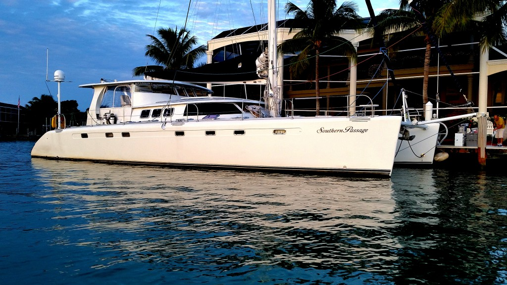 """Our Yacht, the """"Southern Passage"""""""